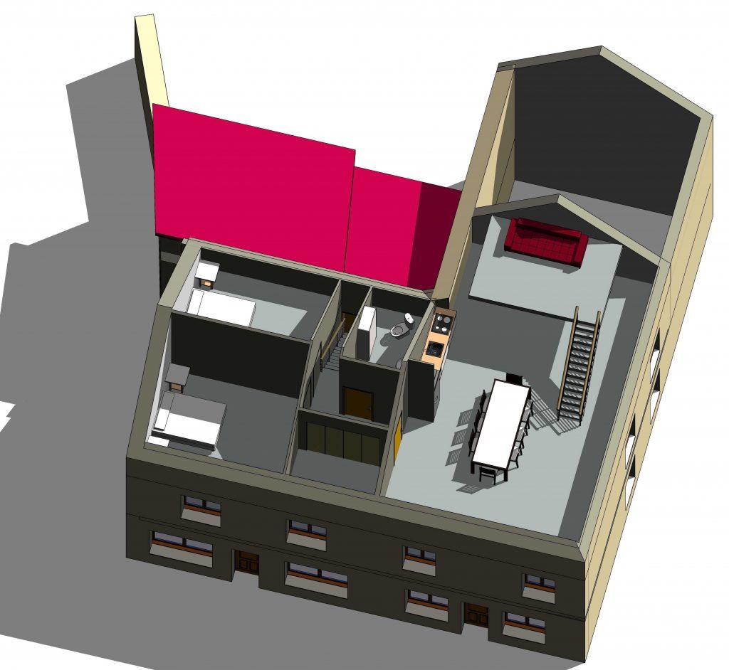 Vefa ARCY STE RESTITUTE LOFT Etage 2