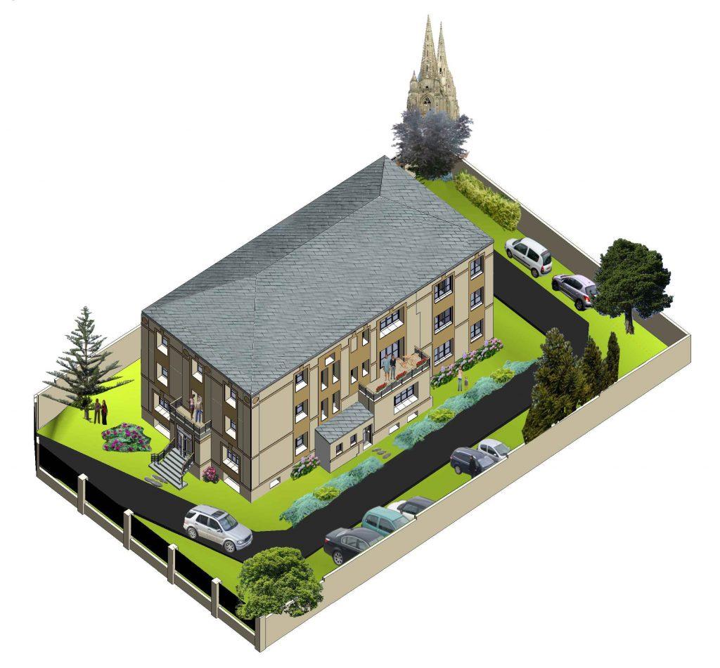 Projet 6 appartements en Vefa Soissons