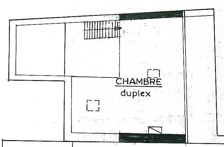 plan chambre appartement Château-Thierry