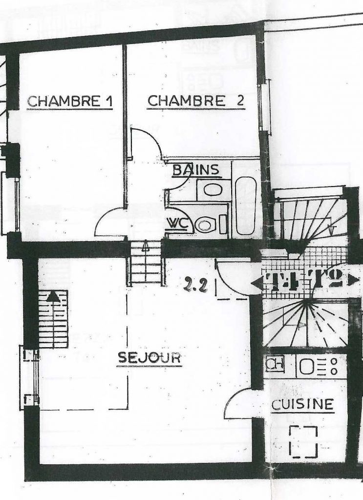 plan appartement Château Thierry